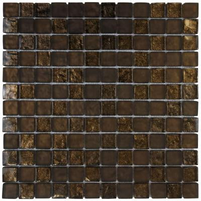 Tessera Square Empire 11-3/4 in. x 11-3/4 in. x 8 mm Glass Mosaic Wall Tile