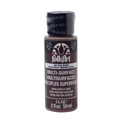 2 oz. Bark Brown Multi Surface Paint