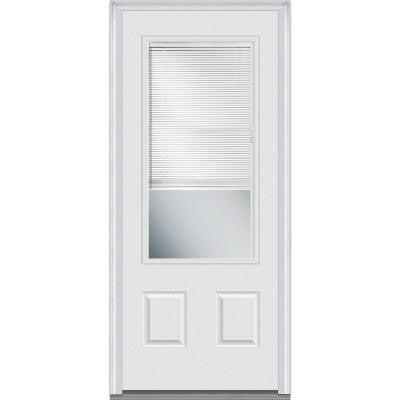 36 in. x 80 in. Internal Mini Blinds Clear Glass 3/4 Lite  sc 1 st  Handy Delivery & Doors \u0026 Windows \u2013 Page 122 \u2013 Handy Delivery