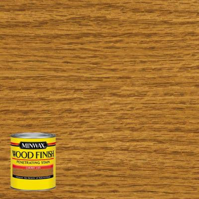 8 oz. Wood Finish Cherry Oil-Based Interior Stain