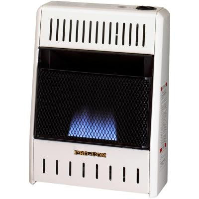 14 in. Vent-Free Dual Fuel Blue Flame Gas Wall Heater