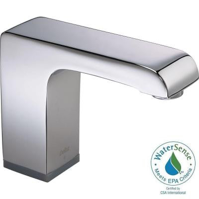 Commercial Hardwired Touchless Lavatory Faucet in Chrome (Valve Not Included)