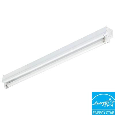 Mini Strip 1-Light White Fluorescent Utility Light