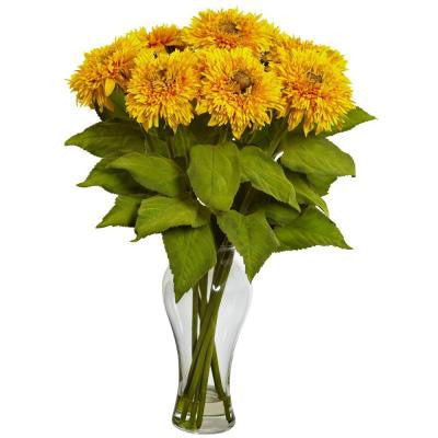 Sunflower Arrangement with Vase