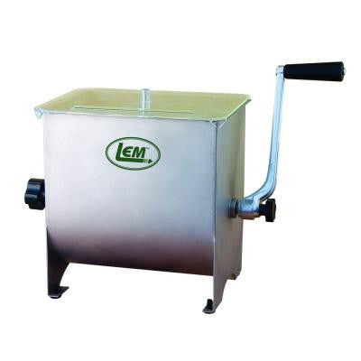 20 lbs. Capacity Stainless Steel Manual Mixer