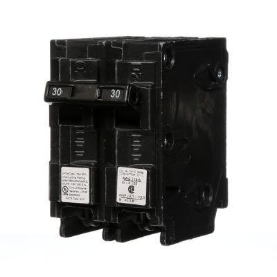 30 Amp Double-Pole Type QPH 22kA Circuit Breaker