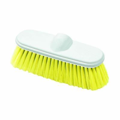 9.5 in. Nylex Yellow Flow-Thru Wall Brush (Case of 12)
