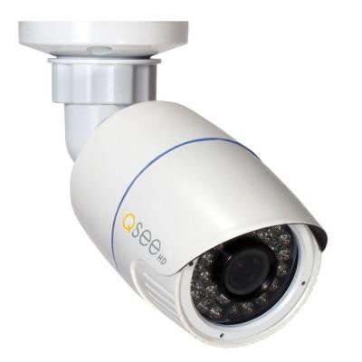Wired 1080p Indoor/Outdoor IP Bullet Camera with Fixed Lens and 100 ft. Night Vision