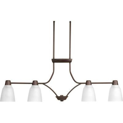 Asset Collection 4-Light Antique Bronze Chandelier