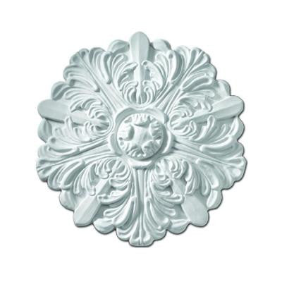 13 in. x 13 in. x 1-1/8 in. Polyurethane Eaton One-Piece Ceiling Medallion