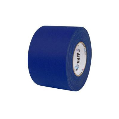 4 in. x 55 yds. Blue Gaffer Industrial Vinyl Cloth Tape (3-Pack)