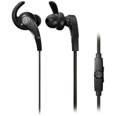 SonicFuel In-Ear Headphones with In-Line Microphone and Control - Black