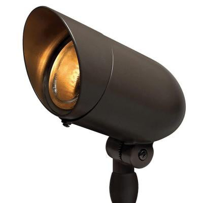 120-Volt Line Voltage Bronze Small Spotlight PAR16 or PAR20