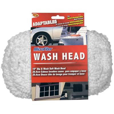 Adaptables 8 in. Microfiber Dip-N-Wash Mop Head