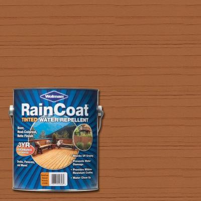 1 gal. Raincoat Tinted Natural Hickory Water Repellent Sealer (Case of 4)