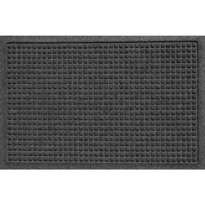 Aqua Shield Squares Charcoal 17.5 in. x 26.5 in. Pet Mat