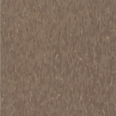 Imperial Texture VCT 12 in. x 12 in. Chocolate Commercial Vinyl Tile (45 sq. ft. / case)