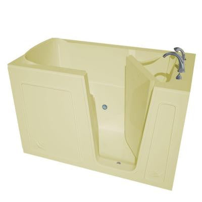 5 ft. Right Drain Walk-In Bathtub in Biscuit