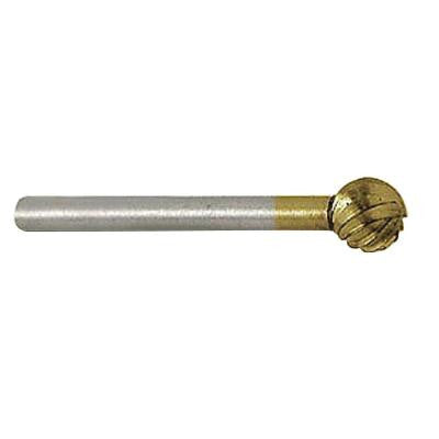 1/8 in. Diameter High Speed Ball Shaped Steel Cutter