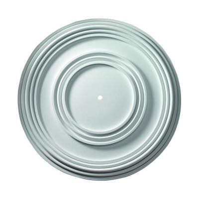 35-13/16 in. x 35-13/16 in. x 2 in. Polyurethane Nicholas Smooth Ceiling Medallion