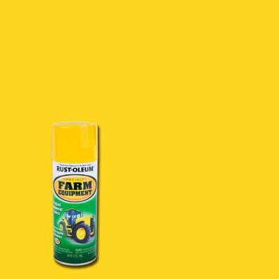 12 oz. John Deere Yellow Farm Equipment Spray Paint (Case of 6)