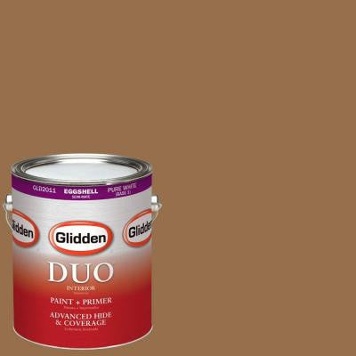 1-gal. #HDGO65U Goldstone Eggshell Latex Interior Paint with Primer