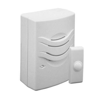 Wireless Battery Operated 2-Tone Basic Door Chime