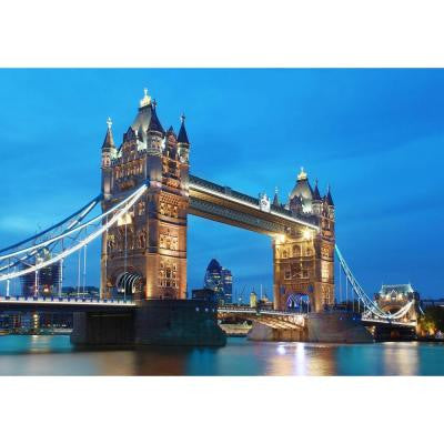 100 in. x 144 in. Tower Bridge Wall Mural
