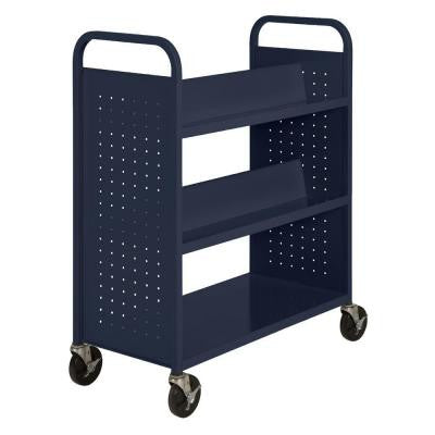5-Shelf Booktruck in Navy