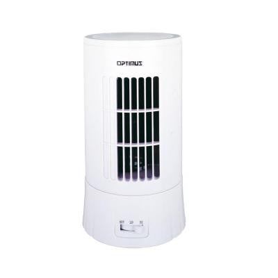 8 in. Desktop Ultra Slim Tower Fan with LED Display
