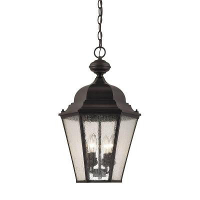 Cotswold 1-Light Oil Rubbed Bronze Outdoor Hanging Light