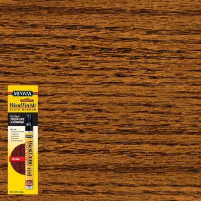 1/3 oz. Red Oak Wood Finish Stain Marker
