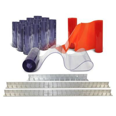 10 ft. x 10 ft. PVC Strip Door Kit
