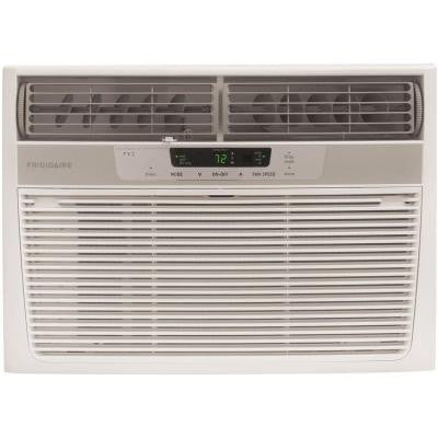 10,000 BTU 115-Volt Window-Mounted Compact Air Conditioner with Full-Function Remote Control