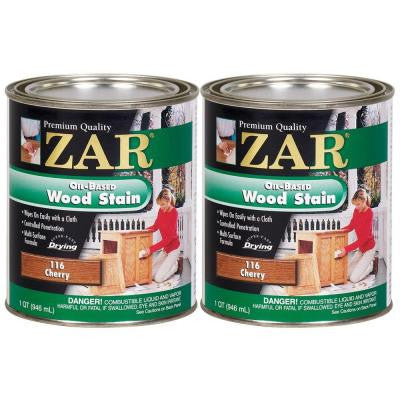 116 1-qt. Cherry Wood Stain (2-Pack)