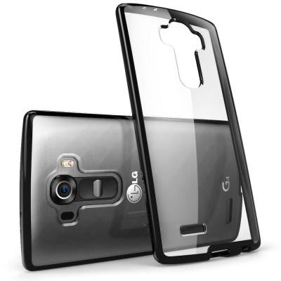 Halo Scratch Resistant Case for LG G4 - Clear/Black