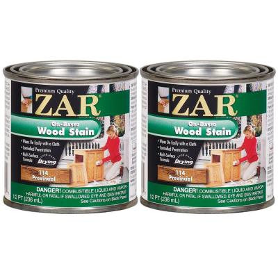 0.5-pt. Provincial Wood Stain (2-Pack)