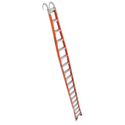 18 ft. Fiberglass Tapered Posting Extension Ladder with 300 lb. Load Capacity Type IA Duty Rating