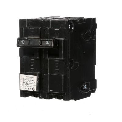 10 Amp Double-Pole Type QP Circuit Breaker