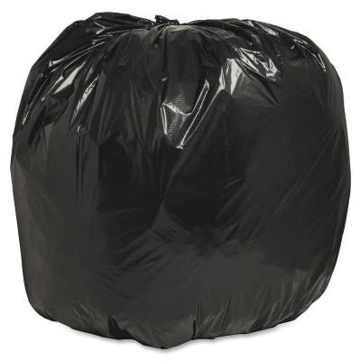56 Gal. 43 in. x 48 in. 1.25 mil Recycled Heavy-Duty Trash Liners (100/Box)