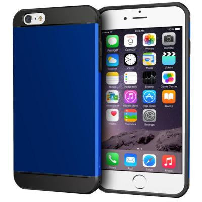Exec Tough Hybrid Armor Case for Apple iPhone 6 Plus/6S Plus - Blue