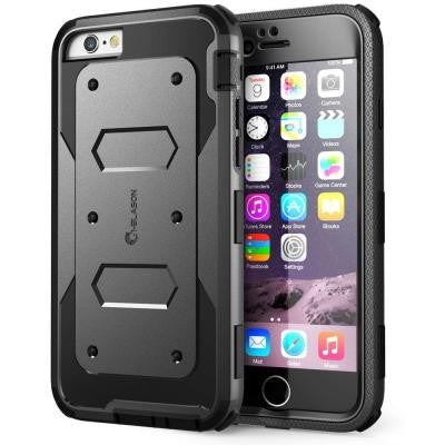 Armorbox Full Body Protective Case for Apple iPhone 6 / 6S Plus -Black