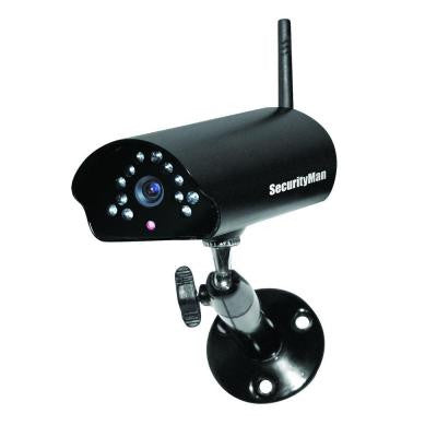 Digital Wireless Indoor/Outdoor Camera with Night Vision and Audio for DigiAir Watch and Digi LCD DVR Series