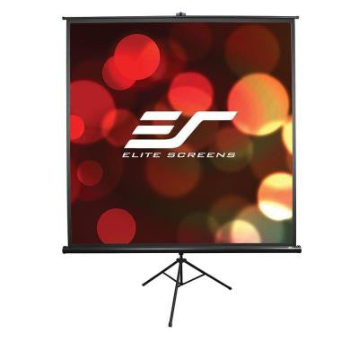 Tripod Series 50 in. Diagonal Portable Projection Screen with 1:1 Ratio