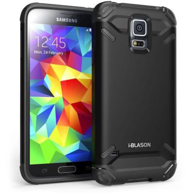 Armadillo Series Hybrid Case for Galaxy S5 - Black