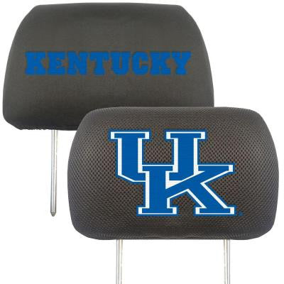 NCAA -University of Kentucky Head Rest Cover (2-Pack)