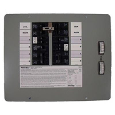 30-Amp 7500-Watt Indoor Manual Transfer Switch for 10-16 Circuits