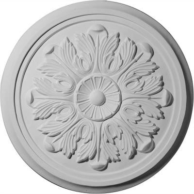 17-7/8 in. Large Legacy Acanthus Ceiling Medallion