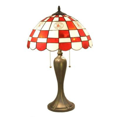 24 in. Tiffany Boston Red Sox Desk Lamp