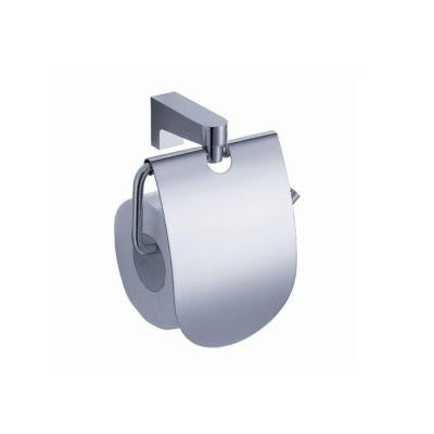 Generoso Single Post Toilet Paper Holder in Chrome